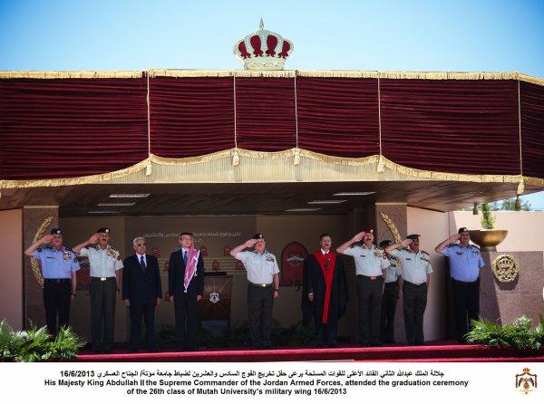 Actualité du 16/06/2013 (Le roi, le prince héritier et les militaires)