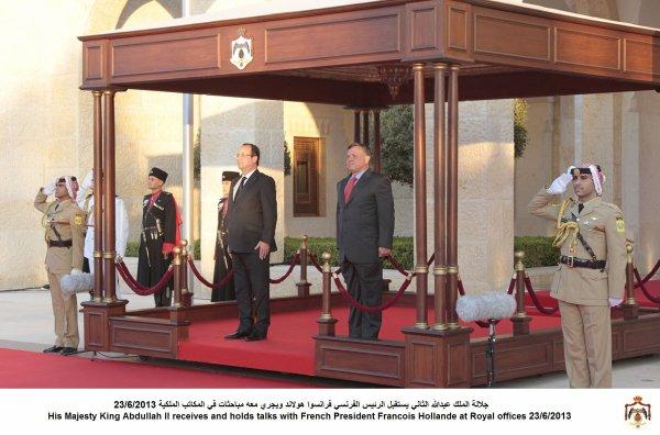 Actualité du 23/06/2013 (Le roi et le président français)