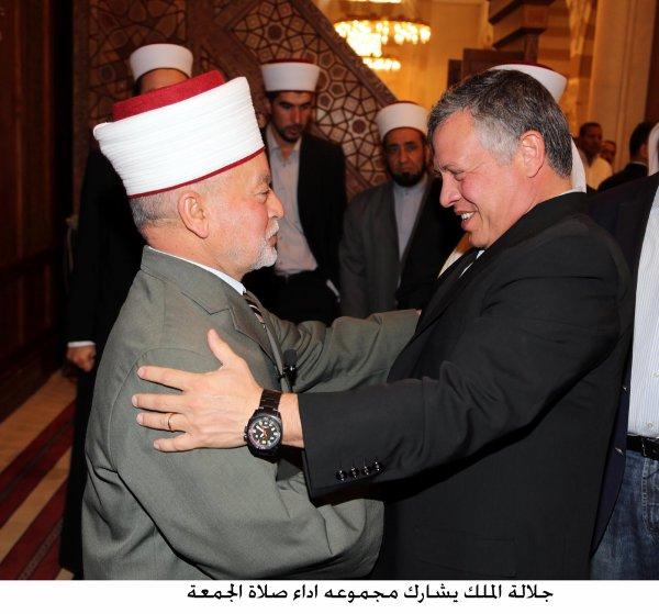 Actualité du 19/07/2013 (Le roi et le prince héritier à la mosquée)