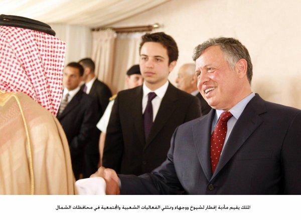 Actualité du 25/07/2013 (Le roi et le prince héritier reçoivent pour l'Iftar)