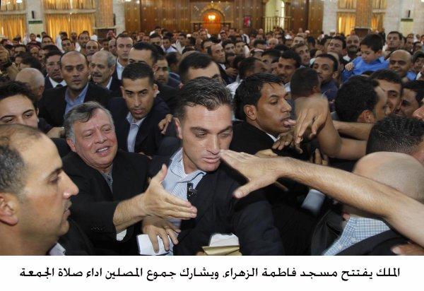 Actualité du 26/07/2013 (Le roi et le prince héritier à la mosquée)