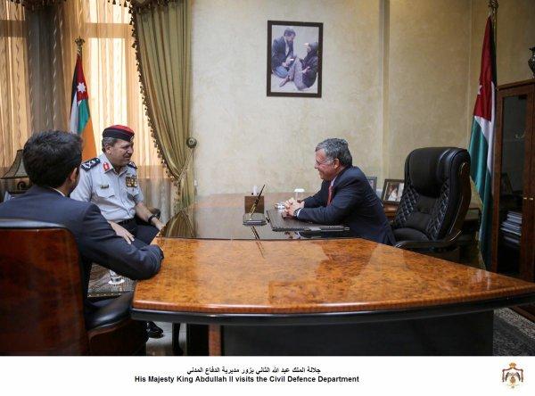 Actualité du 13/08/2013 (Le roi, le prince héritier visitent)