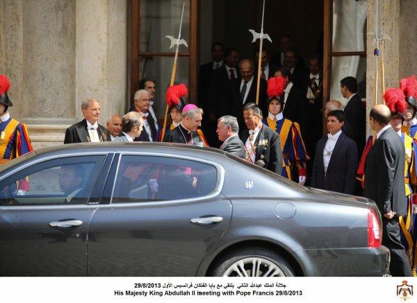 Actualité du 29/08/2013 (Le roi, la reine, et le pape)