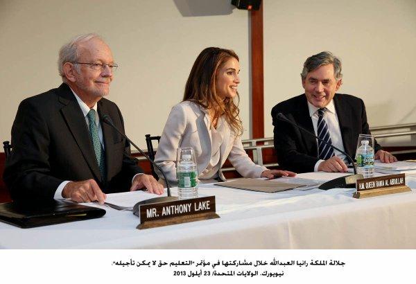 Actualité du 23/09/2013 (La Reine Rania et l'UNICEF)