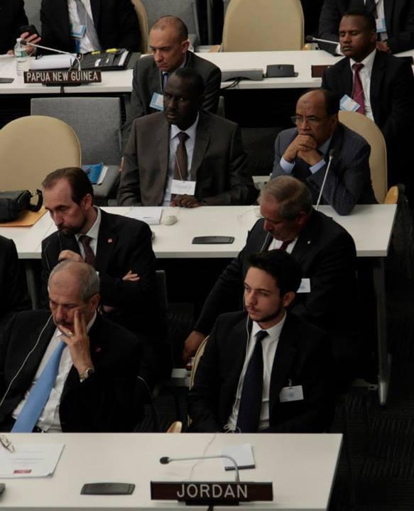 Actualité du 24/09/2013 (Le roi et le prince héritier à l'ONU)