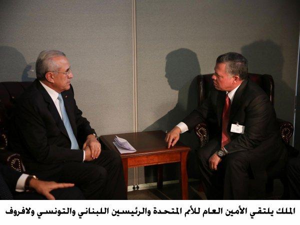 Actualité du 24/09/2013 (Le roi, le prince héritier, à l'ONU)
