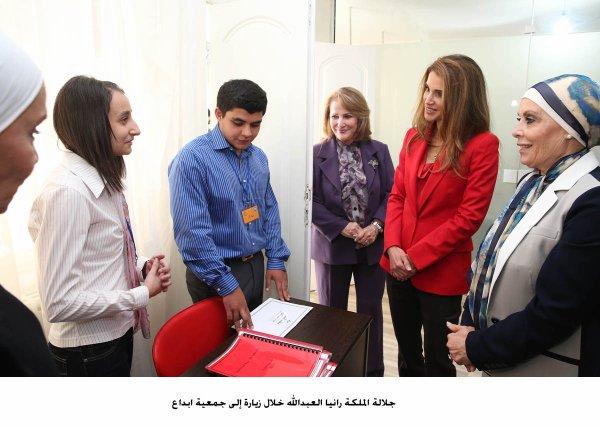 Actualité du 02/10/2013 (La reine Rania en visite)