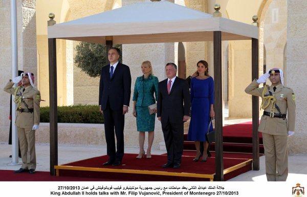 Actualité du 27/10/2013 (Le Roi et la Reine reçoivent)