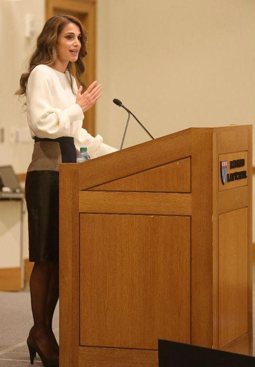 Actualité du 07/11/2013 (La reine Rania aux Etats-Unis)