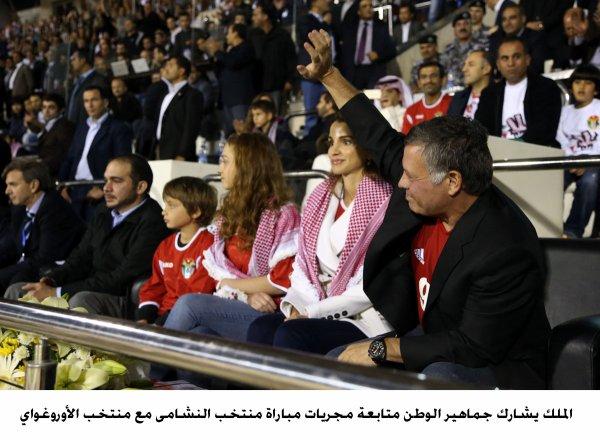 Actualité du 13/11/2013 (Le roi, la reine, et les princes au match de foot)