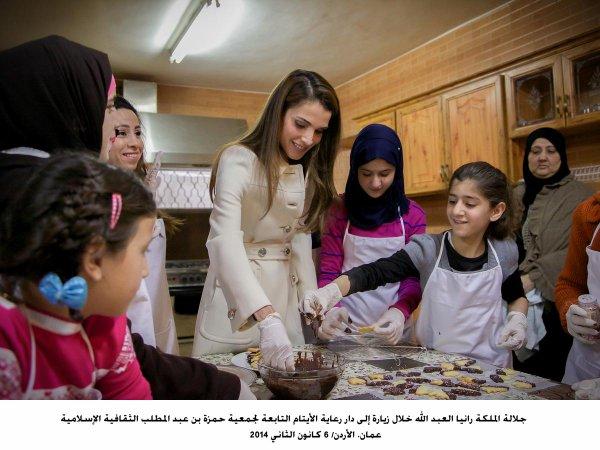 Actualité du 06/1/2014 (La reine Rania et les orphelins)