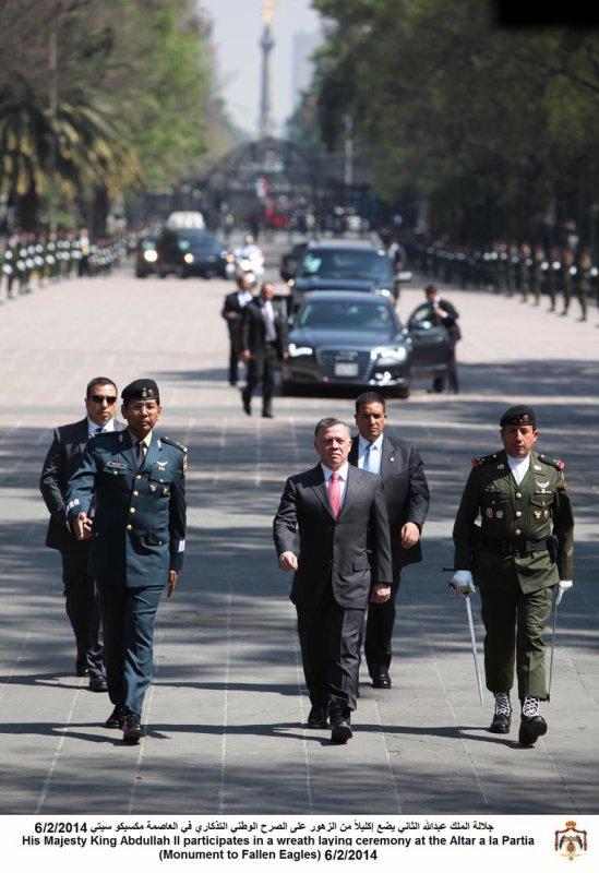 Actualité du 06/02/2014 (Le roi au Mexique)