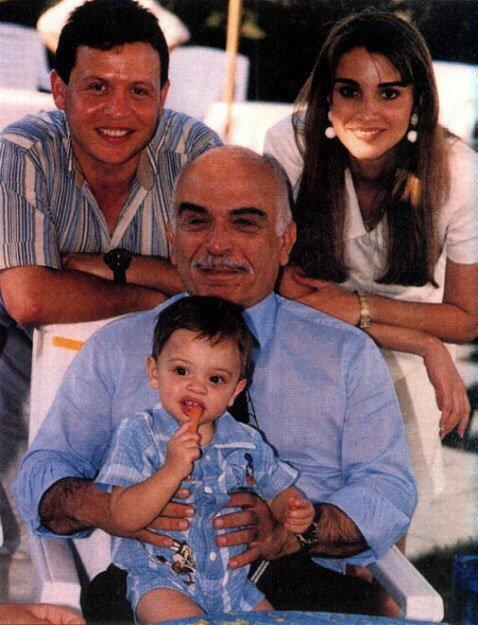 15ème anniversaire du décés du roi Hussein de Jordanie !