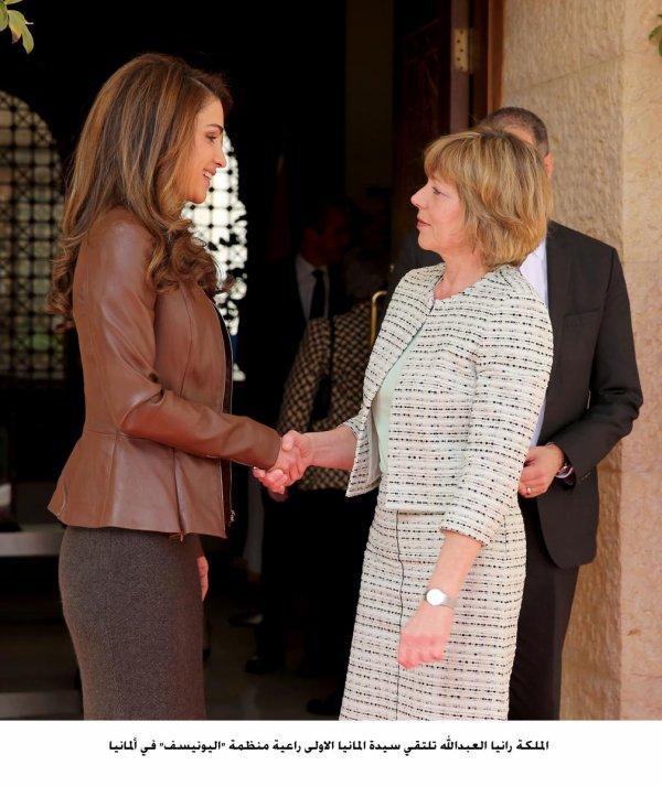 Actualité du 02/03/2014 (La reine Rania reçoit)