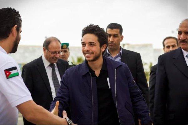 Prince héritier Hussein de Jordanie
