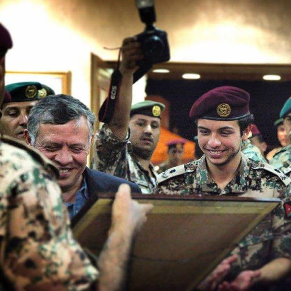 Prince héritier de Jordanie (Photo)
