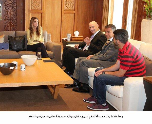 Actualité du 01/06/2014 (La reine Rania et l'informatique)
