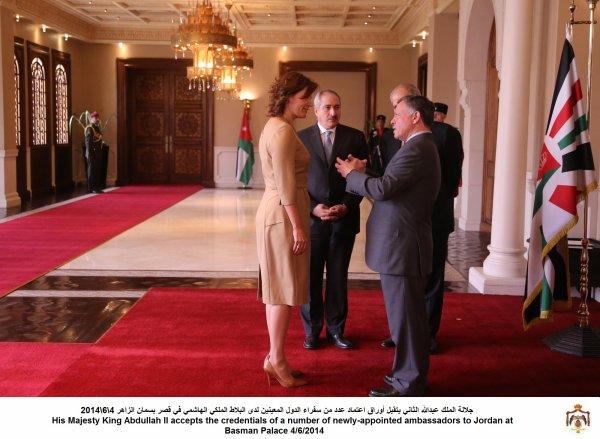 Actualité du 04/06/2014 (Le roi et les ambassadeurs)