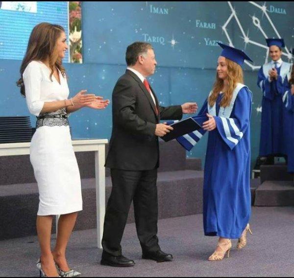 Cérémonie de remise des diplômes de la Princesse Iman de Jordanie