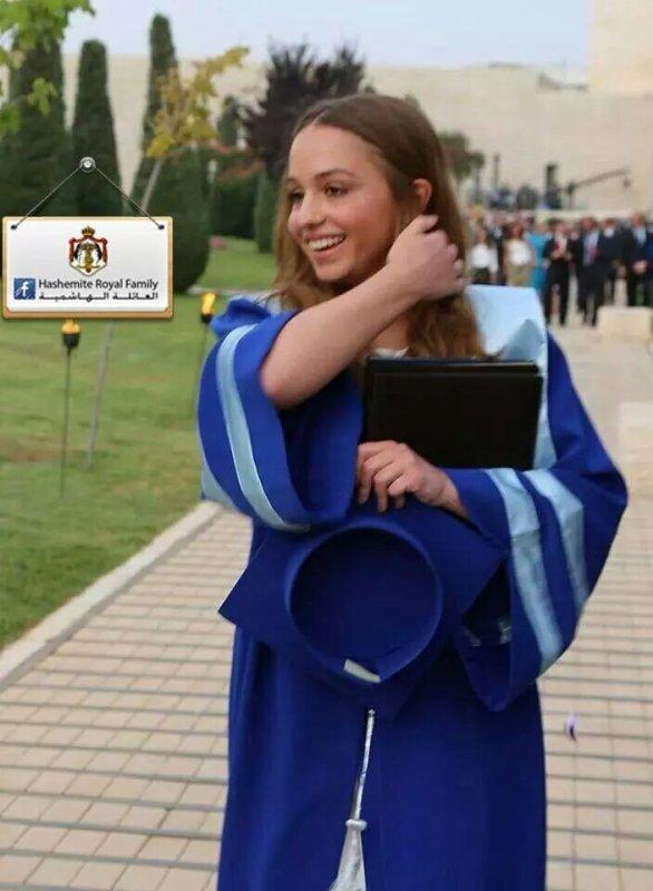 Princesse Iman bint Abdullah II de Jordanie !