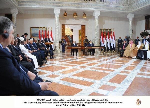 Actualité du 08/06/2014 (Le roi en Égypte)