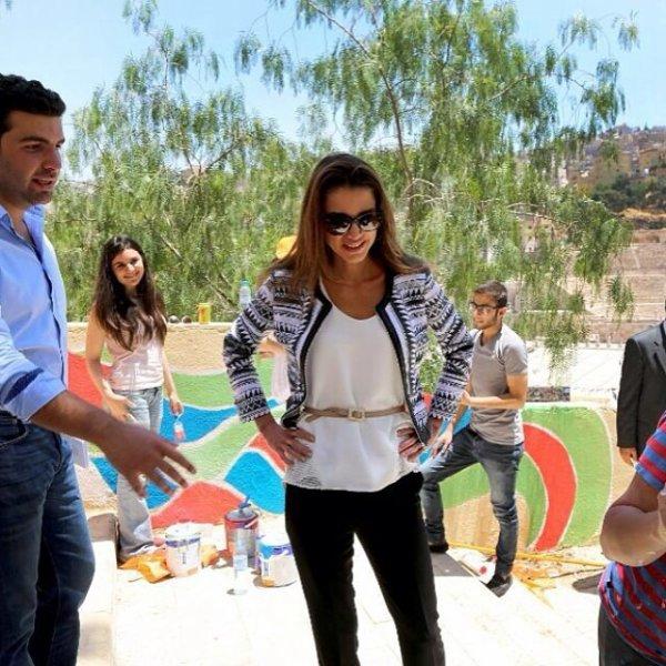Actualité du 10/06/2014 (La Reine Rania et l'environnement)
