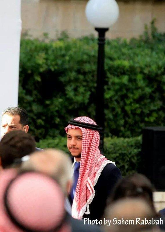 Prince héritier Hussein de Jordanie !