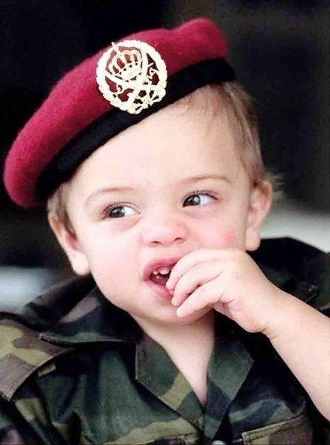 Photos d'archives spécial 20ème anniversaire du prince héritier Hussein de Jordanie