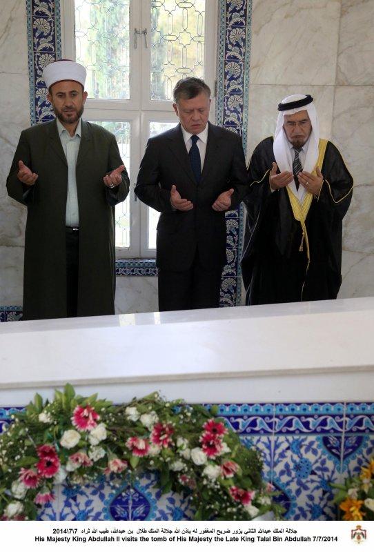 Actualité du 07/07/2014 (Le roi au cimetière)