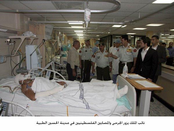 Actualité du 14/07/2014 (Le prince héritier à l'hôpital)