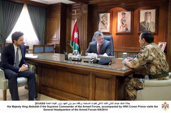 Actualité du 6/08/2014 (Le roi, le prince et l'armée)