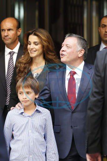 Actualité du 18/09/2014 (La reine, le roi et le prince à Paris)