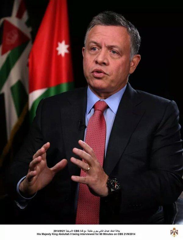 Interview du Roi Abdullah II pour la CBS (1er partie)