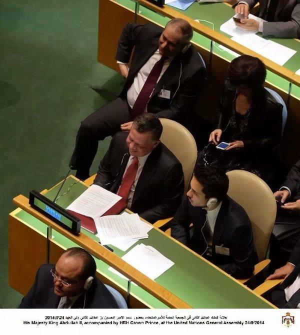Actualité du 24/09/2014 (Le roi et le prince à la 69ème assemblée de l'ONU)