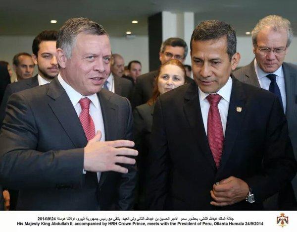 Actualité du 24/09/2014 (le roi, et le prince héritier rencontrent)