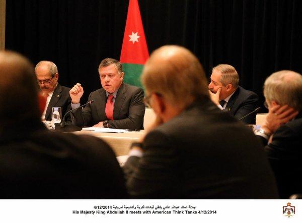 Actualité du 04/12/2014 (Le roi Abdullah II, et le prince héritier à Washington)