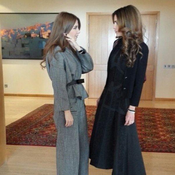 Actualité du 03/12/2014 (La Reine Rania rencontre)
