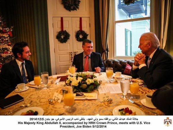 Actualité du 05/12/2014 (Le roi, le prince héritier et le vice-président)