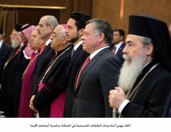 Actualité du 24/12/2014 (Le roi, le prince héritier à Karak)