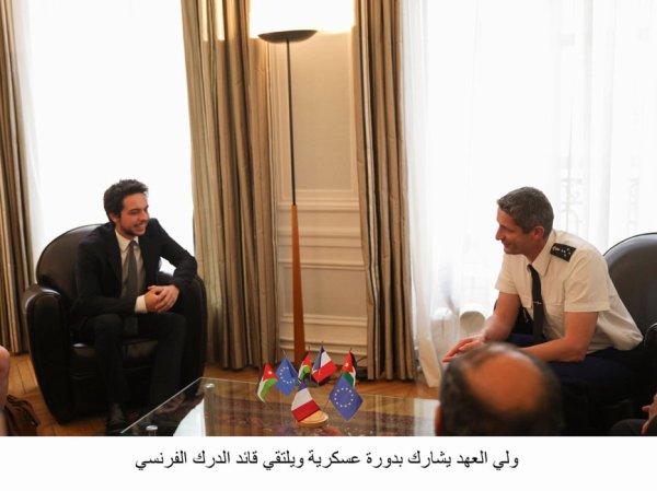 Année 2014 du prince héritier Hussein de Jordanie ! (Reportage photos 2/3)