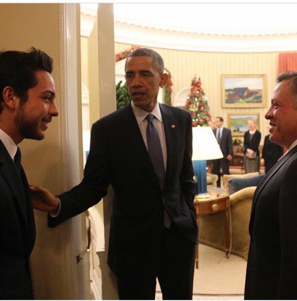 Année 2014 du prince héritier Hussein de Jordanie ! (Reportage photos 3/3)