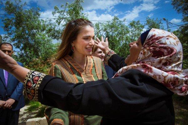 Actualité du 30/03/2015 (La reine Rania visite)