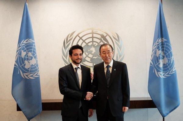 Actualité du 22/04/2015 (Le prince héritier à l'ONU)