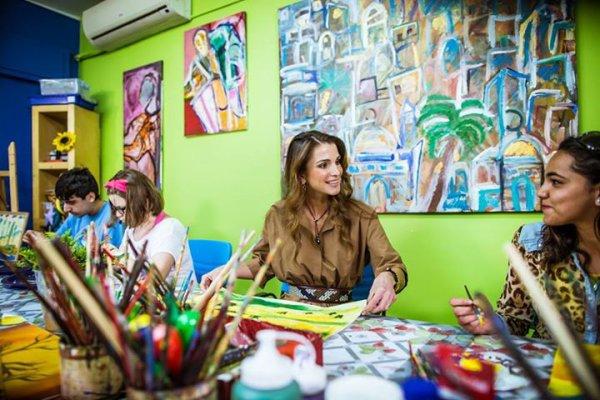 Actualité du 06/05/2015 (La Reine Rania visite)