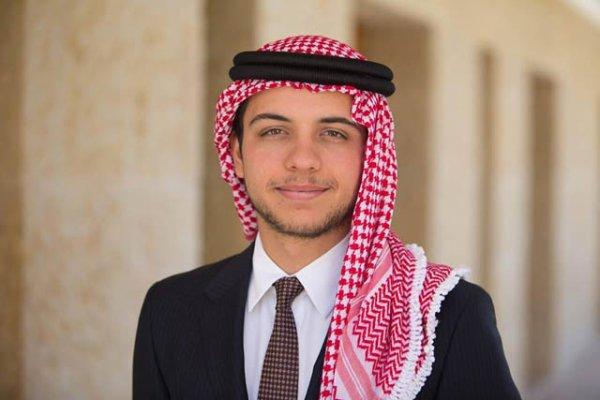 Message de v½u à l'occasion de la 69ième fête de l'indépendane par le prince héritier Hussein de Jordanie