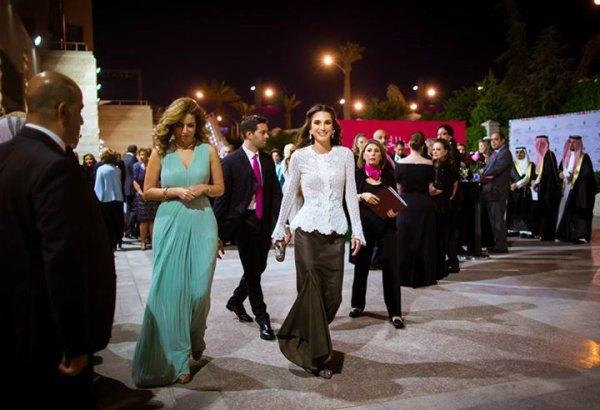 Actualité du 07/06/2015 (La Reine Rania a une réception)