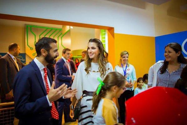 Actualité du 08/06/2015 (La Reine Rania au Musée des enfants)