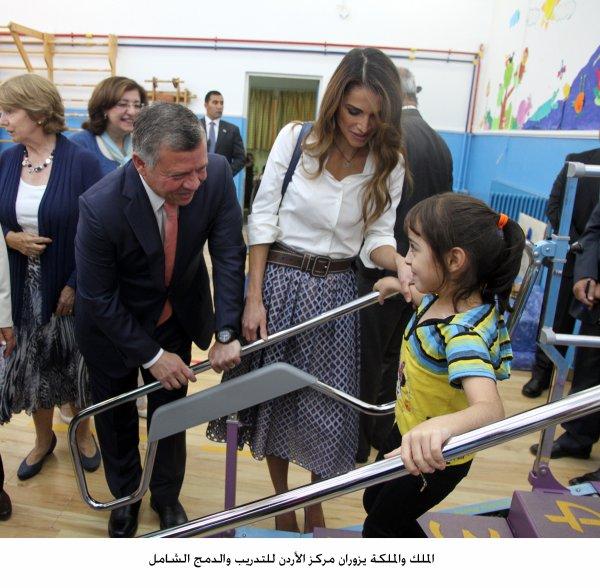 Actualité du 22/06/2015 (Le roi et la reine visite un centre)