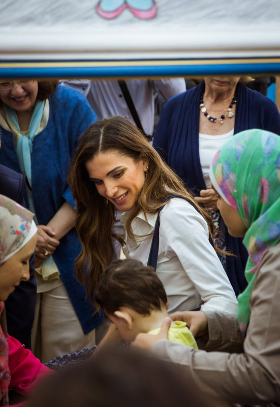 Photos : Le roi Abdullah II et la reine Rania de Jordanie