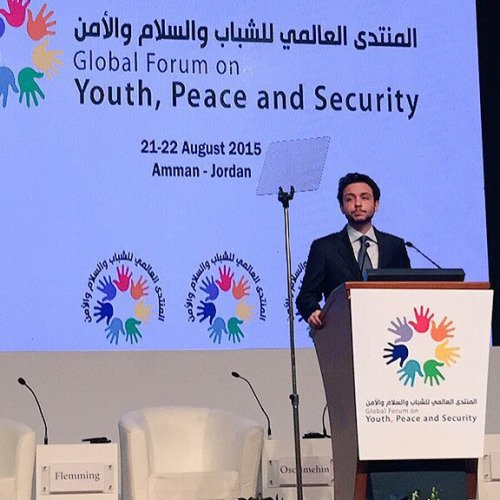 Photos du prince héritier Hussein bin Abdullah II !